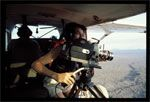 Ariel filming over Mzima - click to view detail